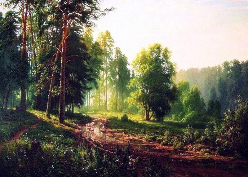 Сергей Басов. После дождя.