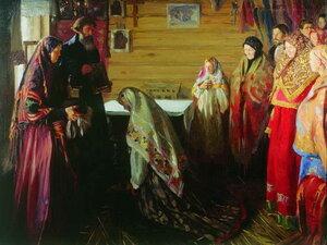 Старинный обряд благословения невесты в городе Муроме