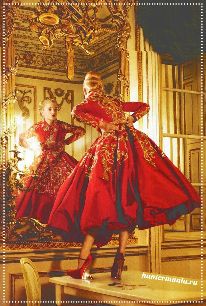 Холст ткани или готовое платье?