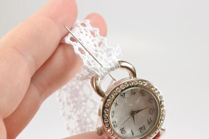 Часы на цепочке своими руками