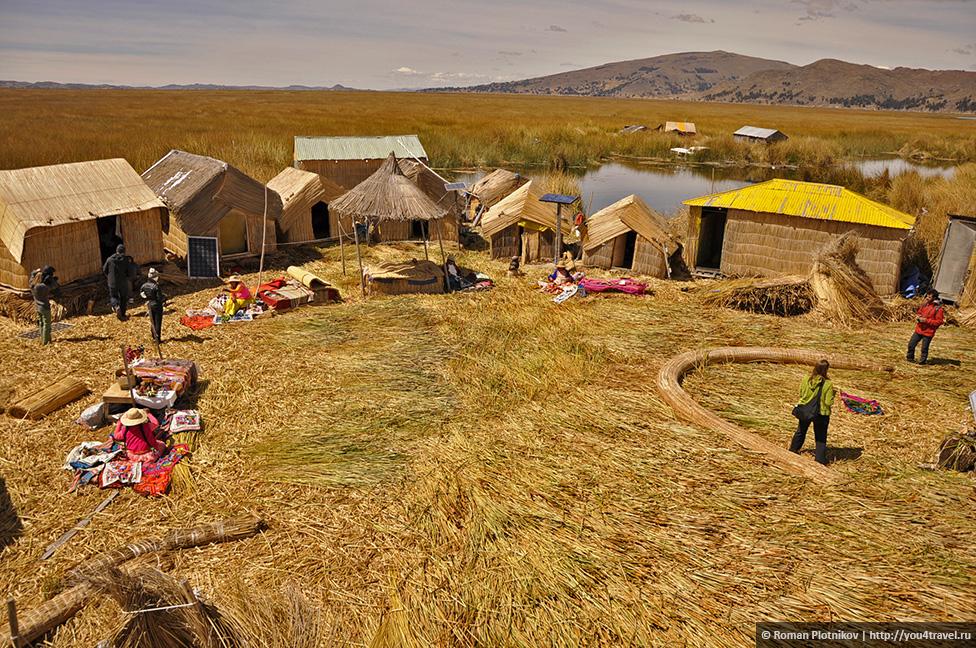 0 1790bc 1d290344 orig Высокогорное озеро Титикака и город Пуно