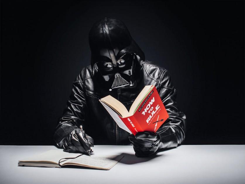 Будни Дарта Вейдера в фотопроекте «365 дней» фотографа Павла Кадыжа (Pawel Kadysz)