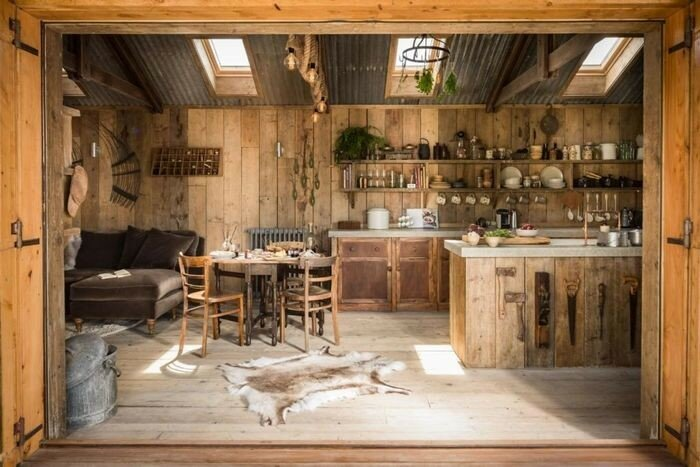Как деревенский дом сделать уютней 784