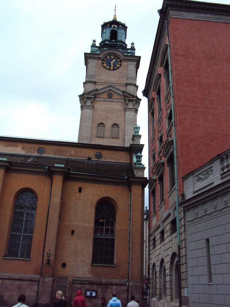 Церковь Святого Николая. Вид на колокольню