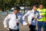 Спортивный парад московской полиции