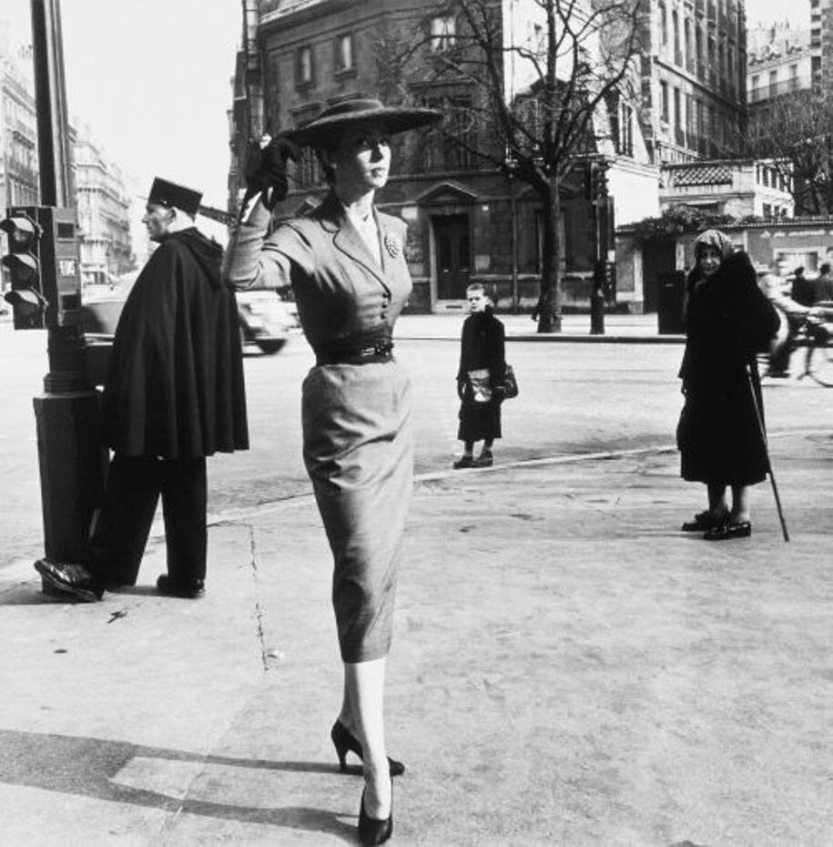 1952. Бульвар Распай, улица Ренн, Париж