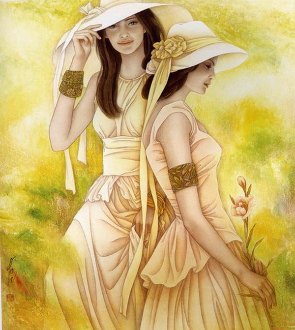 О женщина, ты роза и кинжал.В чем суть твоя, сама отлично знаешь.И в мире нет того, кто бы познал,Когда ты любишь...
