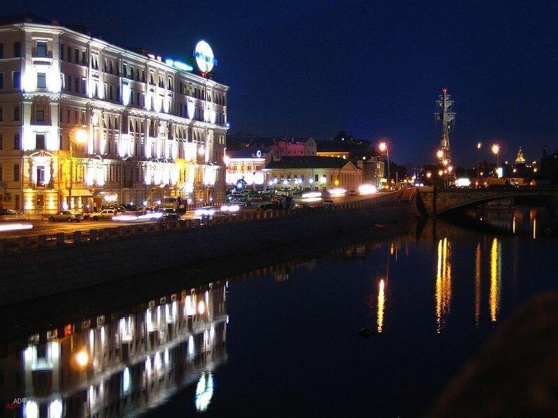 Прогулка по Москве 2006-07-24