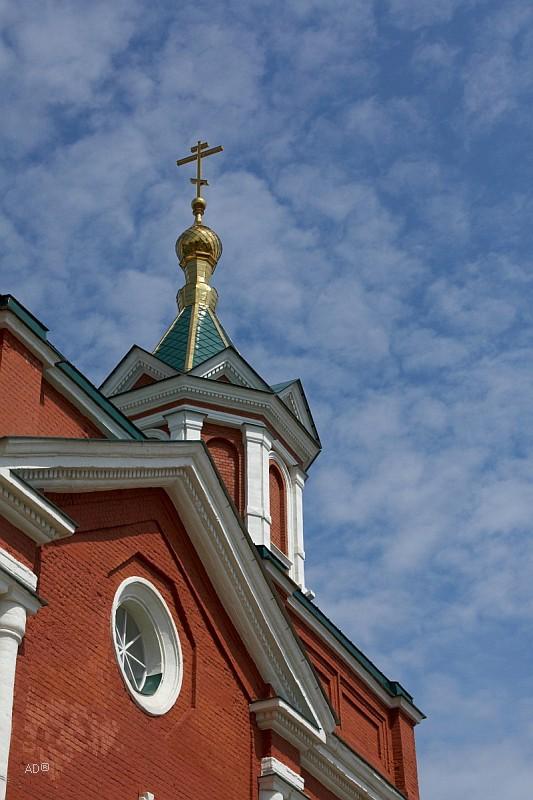 Трапезная Успенской церкви Брусенского монастыря