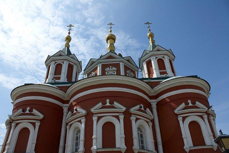 Крестовоздвиженский собор Брусенского монастыря