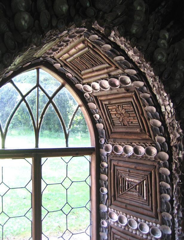 Дом из ракушек