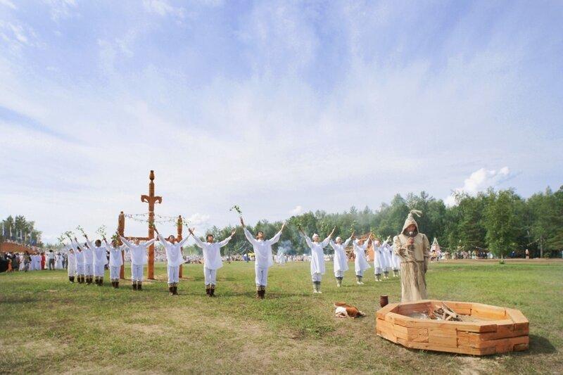 Отктытие спартивных игр Манчаары. Шаман - шаманит