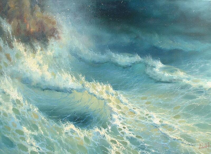 Море у скал