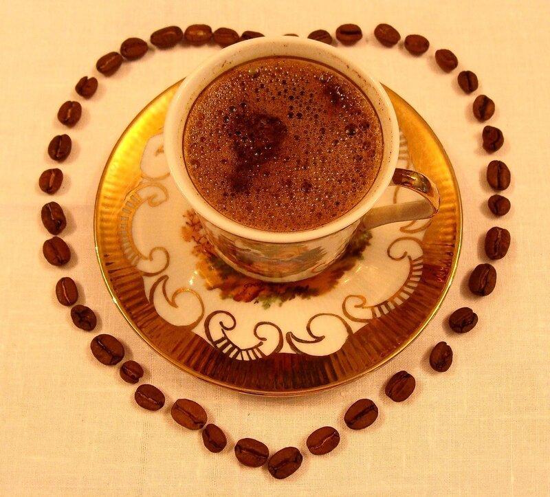 Открытки доброе утро с кофе в красивой