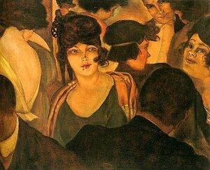 """Шад, """"Cafe d'Italia"""", 1921г."""