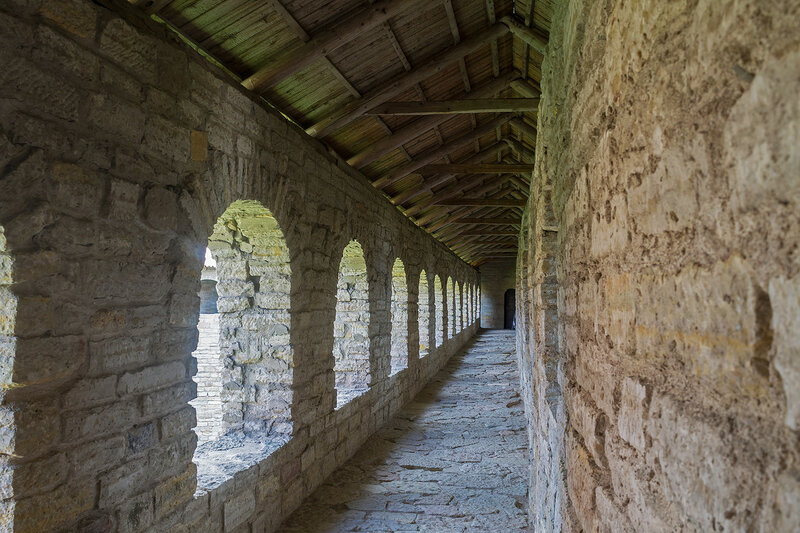 Прогулка по крепости Орешек