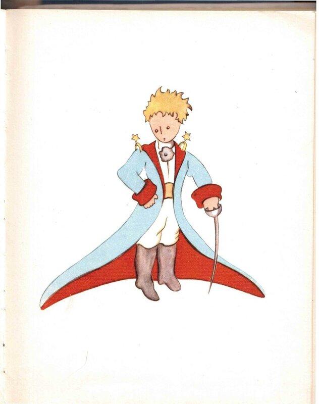 Маленький принц рисунки автор