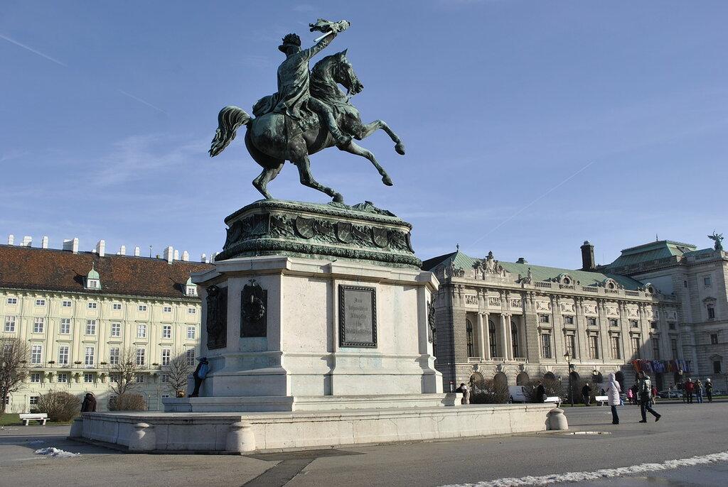 Памятник эрцгерцогу Карлу Тешенскому