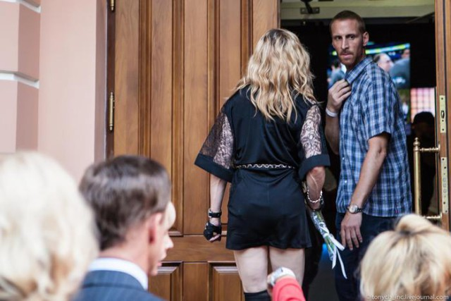 Мадонна открыла свой фитнес-клуб Москве
