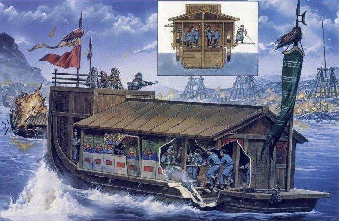 23-колёсный китайский корабль.jpg