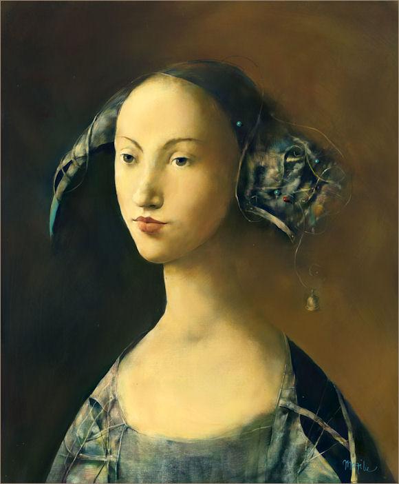 Шуты, короли и красавицы на сюрреалистичных картинах Georges Mazilu