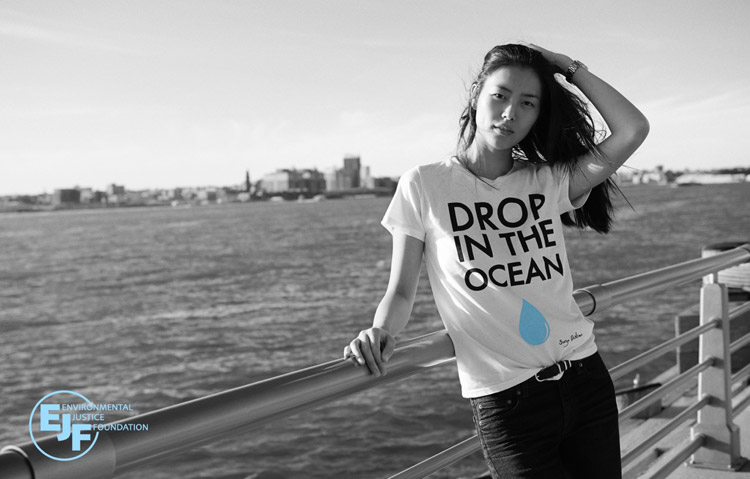 Лю Вэнь (Liu Wen) для Environmental Justice Foundation