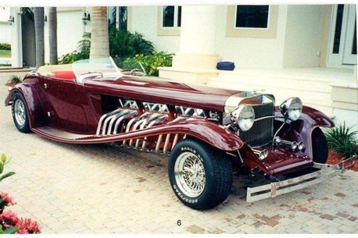 Custom Panther с тремя моторами