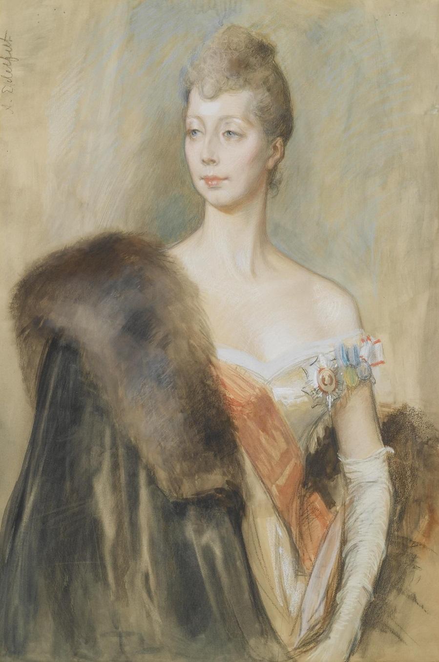 Tanskan Prinsessa Marien Muotokuva, Luonnos.Jpeg
