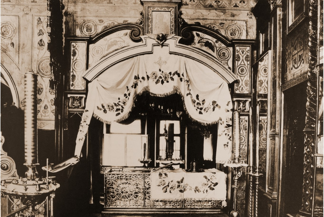 Рака с мощами святого князя Даниила. Конец XIX века - начало XX века
