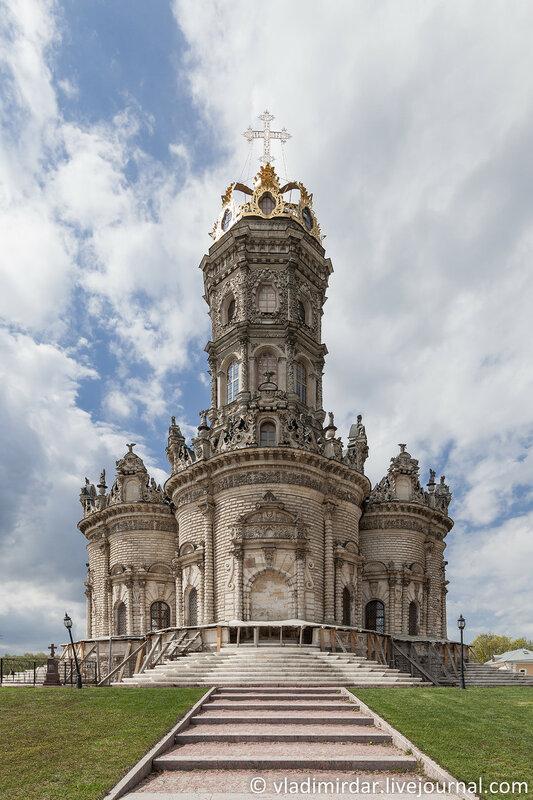 Знаменская церковь в усадьбе Дубровицы