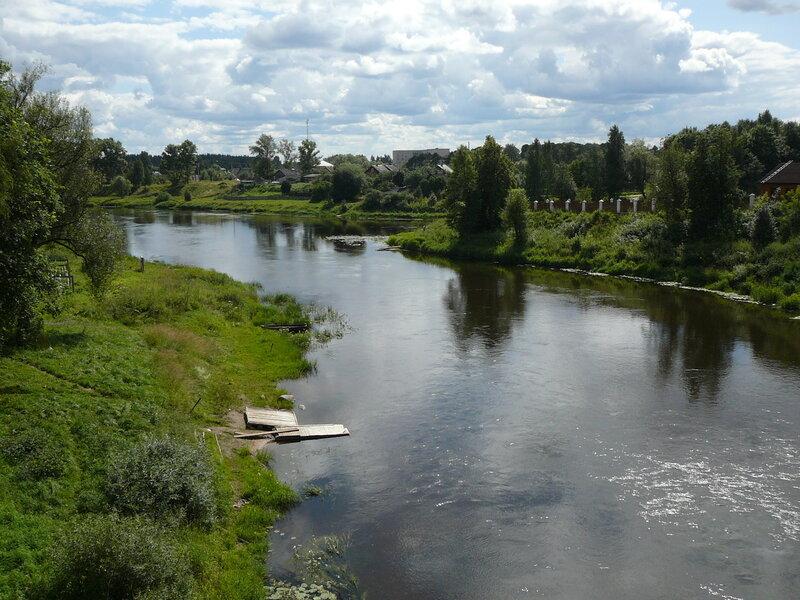 Селижарово. Река Селижаровка.