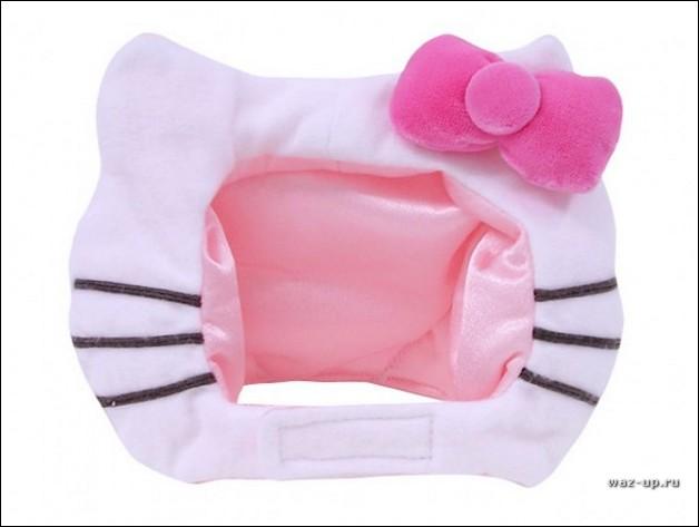 Фотографии кошек в стиле Hello Kitty