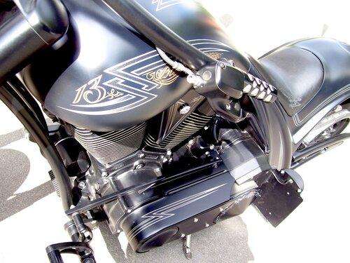 Мотоцикл.Инкрустация*