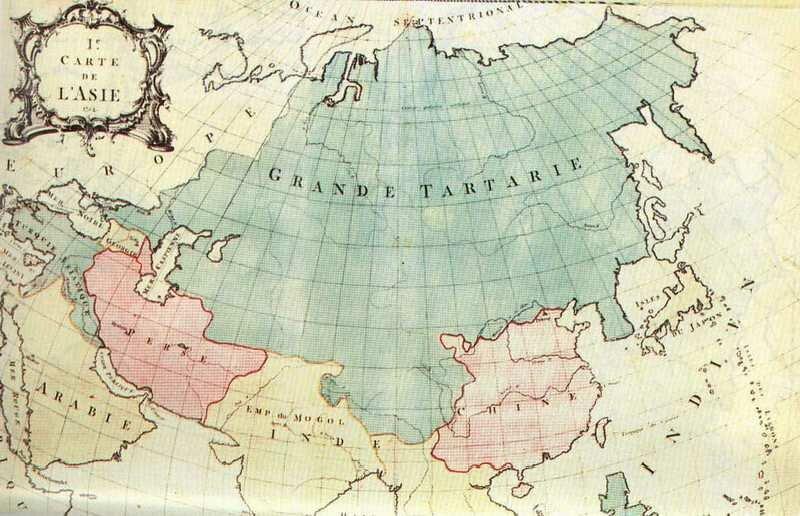 GRANDE TARTARIE 1754 г.
