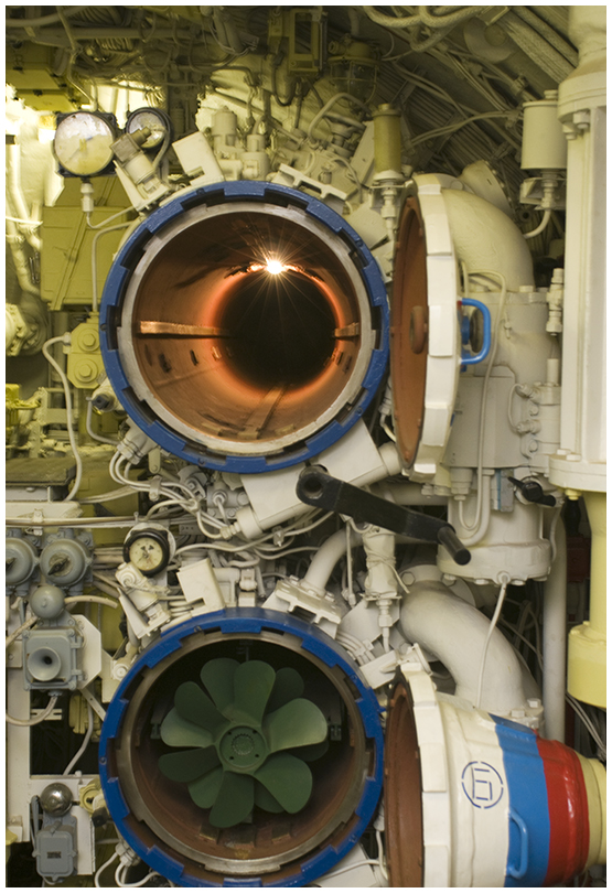 Торпедный аппарат подводной лодки