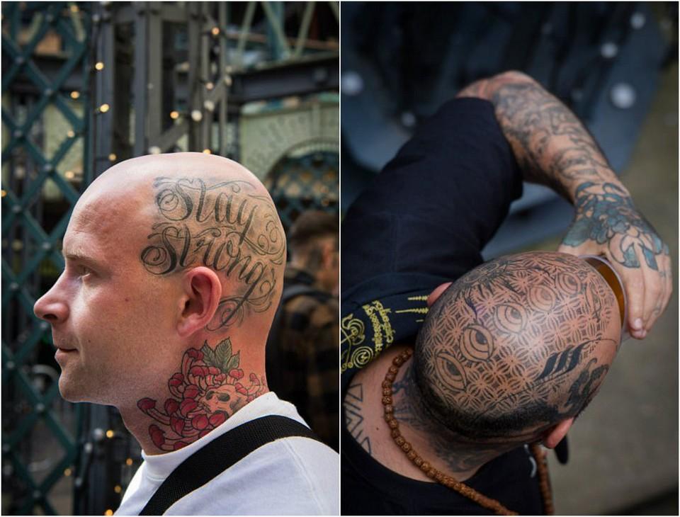 Международная тату-конвенция в Лондоне
