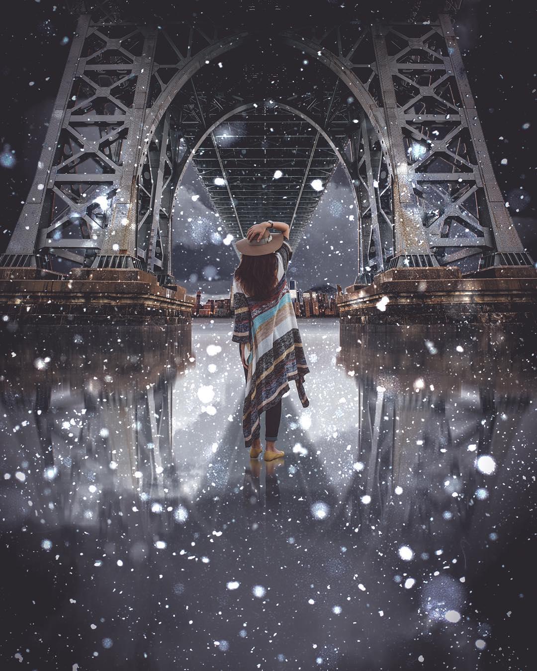 Сказочные фотоманипуляции Стэна Уэсли