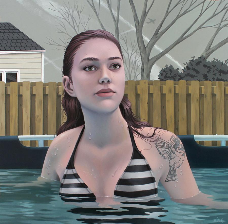 Завораживающие портреты девушек Сары Джонкас