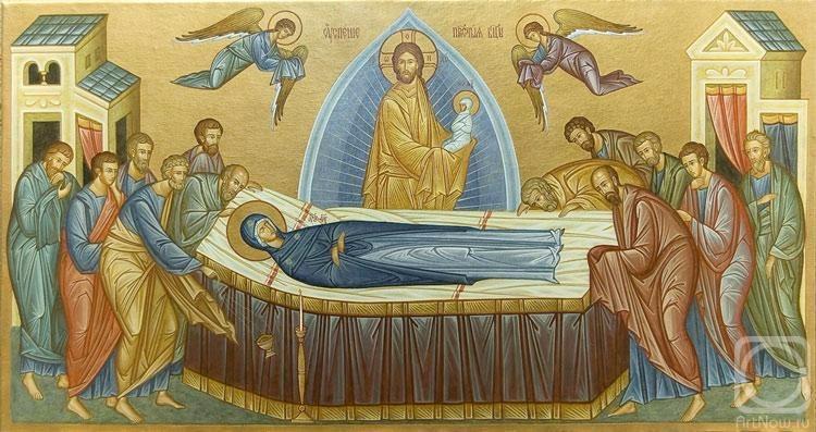 Открытки на Успение Пресвятой Богородицы! Поздравляем вас