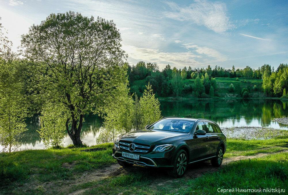 Обзор Mercedes-Benz E-Класс All Terrain