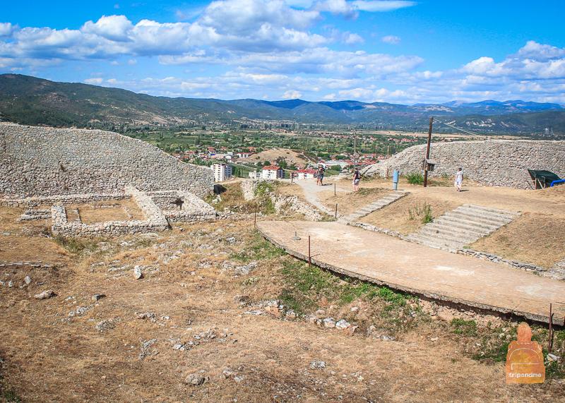 Раскопки в крепости Самуила