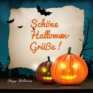 Feliz Halloween Original Saludo Imagen - Gratis, hermosas postales vivientes