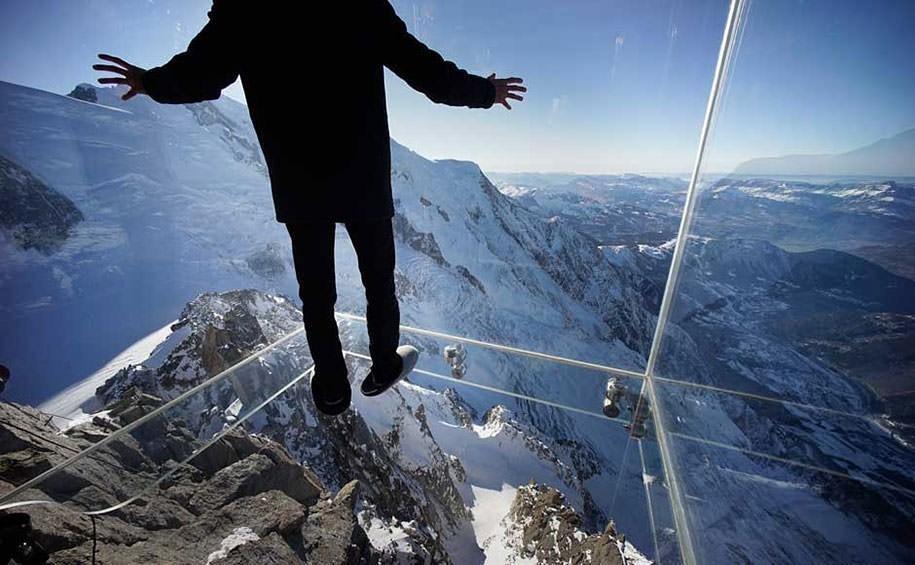 3. Здесь можно насладиться видами на Монблан — самую высокую гору Европы — из самой высокой в мире к
