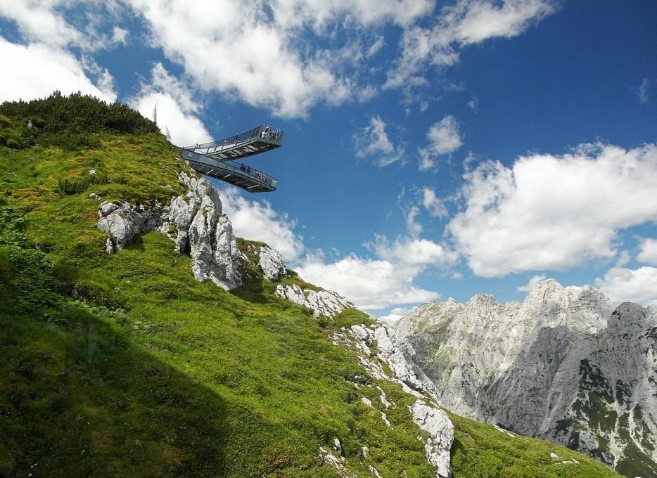 27. Смотровая площадка Alpspix в Германии