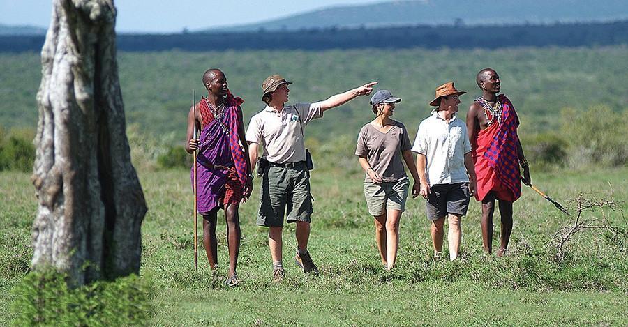 22. Пешее сафари с племенем масаи — Танзания Нет ничего лучше, чем исследовать дикую природу Африки