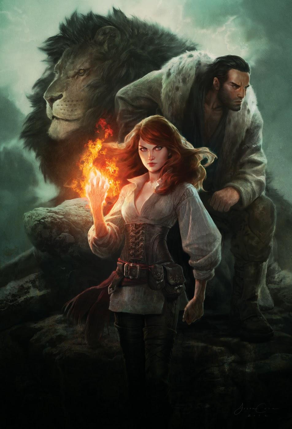 Огнём и мечом: иллюстрации Джейсона Чена