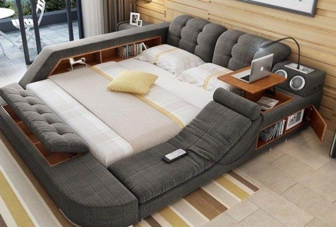 Создана многофункциональная кровать мечты (5 фото)