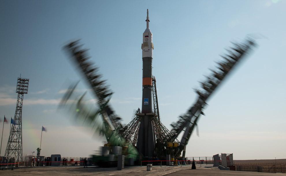 Эта пусковая площадка на космодроме «Байконур» называется Площадка № 1 или «Гагаринский старт