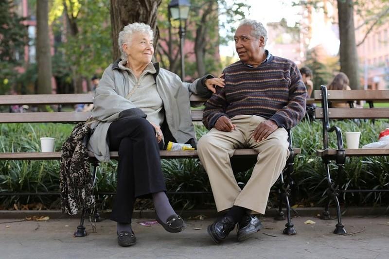 34. «Мы оба участвуем в движении за гражданские права. Мы встретились 47 лет назад на пикете».