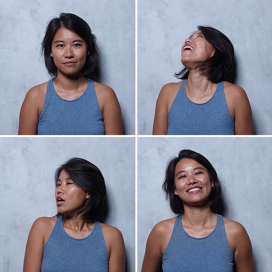 Бразильский фотограф снял женщин до, во время и после оргазма